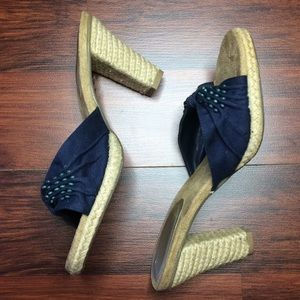 Blue &Tan Heels NWT